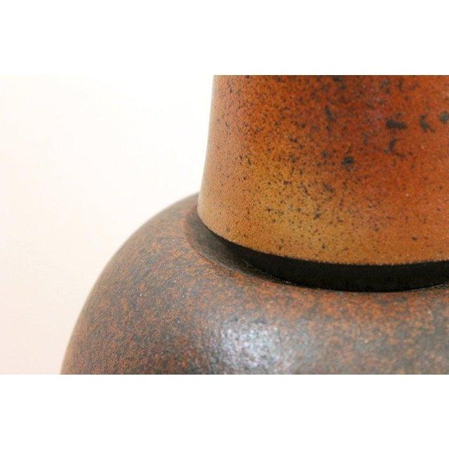 German Studio Pottery Vase For Sale - Image 4 of 11