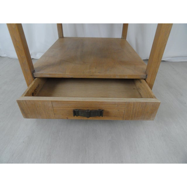 Traditional 1970's Century Furniture End Table For Sale - Image 3 of 11