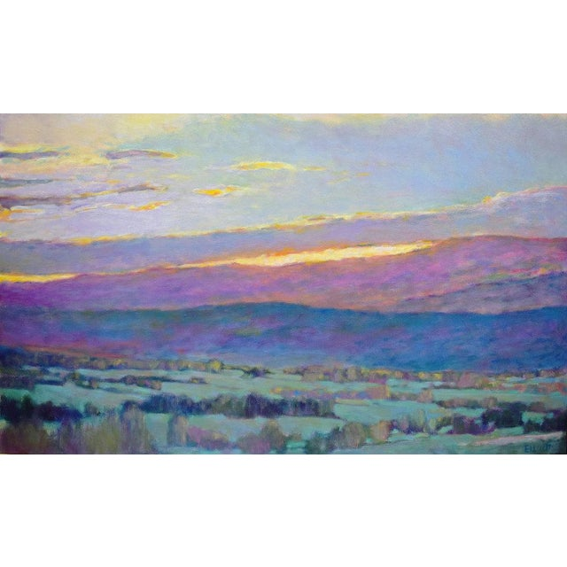 2010s Ken Elliott, Sun Behind the Foothills, 2017 For Sale - Image 5 of 5