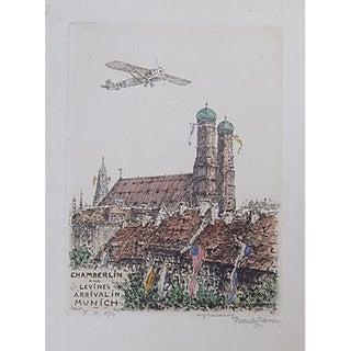 Aviators Etching Chamberlin & Levine in Munich