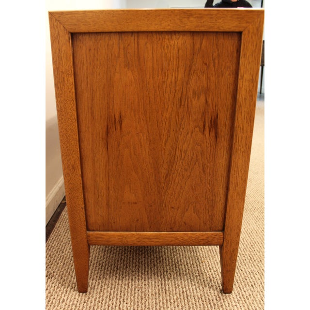 Mid-Century Danish Modern Broyhill Brutalist Credenza For Sale In Philadelphia - Image 6 of 11