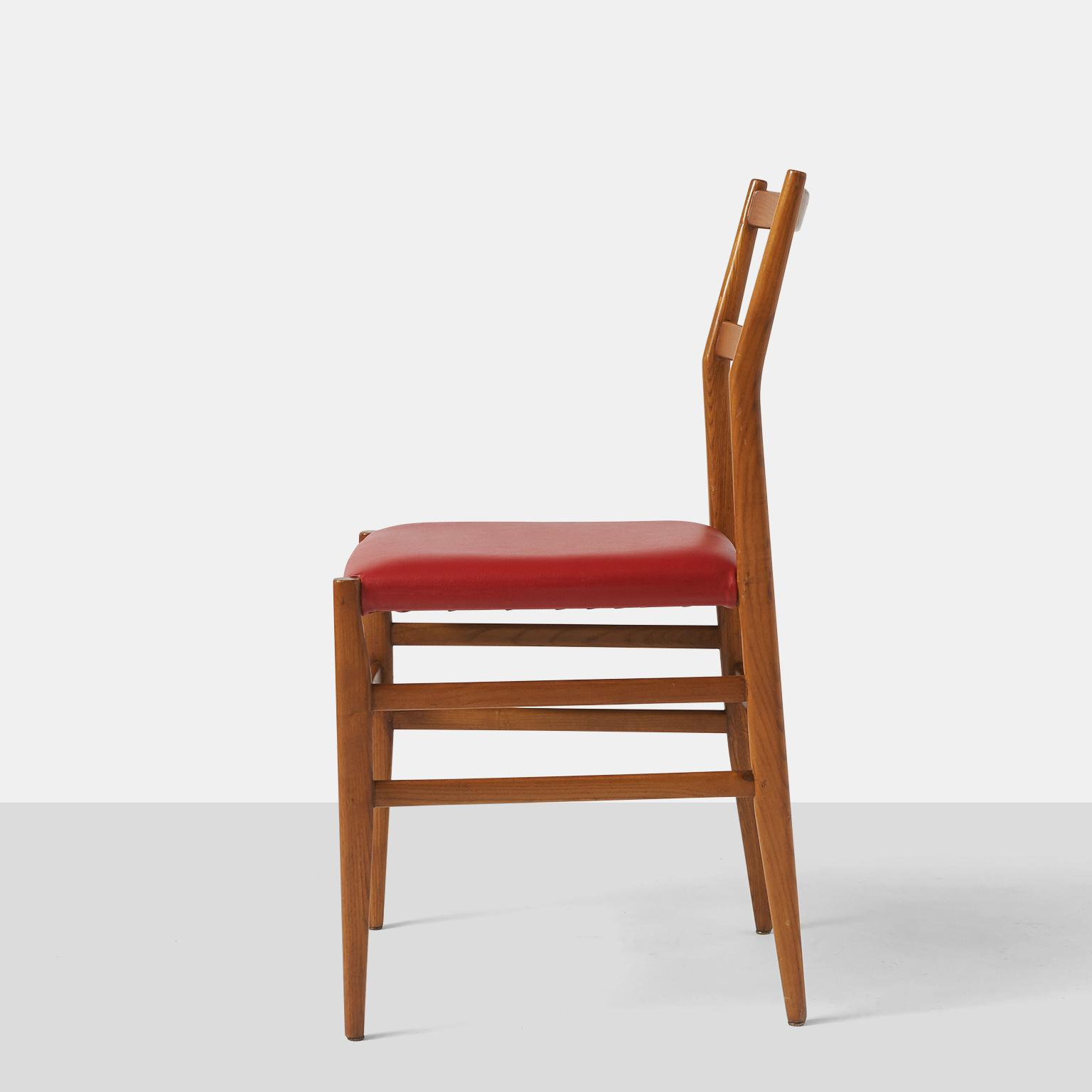 Cassina Leggera Dining Chairs By Gio Ponti For Cassina   A Pair For Sale    Image