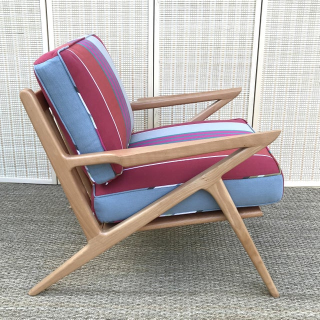 Poul Jensen Mid-Century Modern Danish Z Chair For Sale - Image 4 of 7