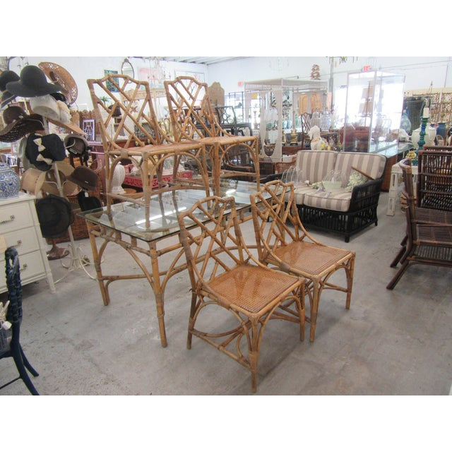 Italian Deutch Chippendale Dining Set - 5 Pieces For Sale In West Palm - Image 6 of 10