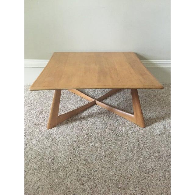 Heywood Wakefield X Base Coffee Table Chairish