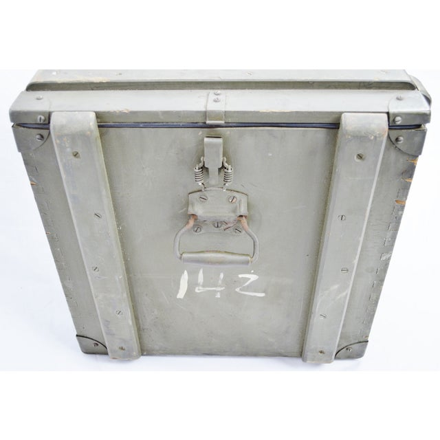 United States Army AAA Gun Site Equipment Crate For Sale - Image 9 of 13