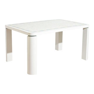 Memphis Tiled Dining Table For Sale