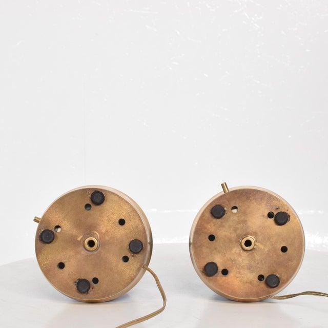 Aluminum Angelo Lelli Table Lamps for Arredoluce, Midcentury Italian Modern For Sale - Image 7 of 9