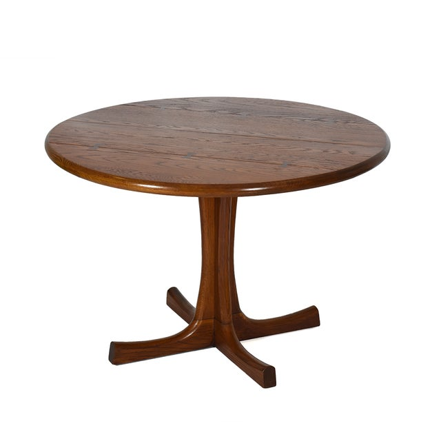 Conant Ball Round Pedestal Dining Table For Sale In Dallas - Image 6 of 6