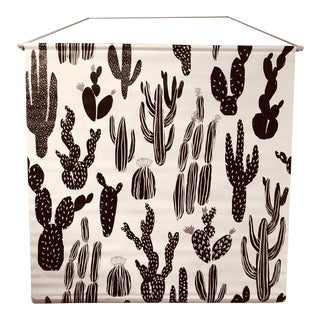 Modern Cactus Print Wall Hanging For Sale