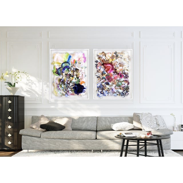 """Part of my """"Imagine"""" series. This piece is inspired by the inherent beauty in the natural and commercial world and..."""