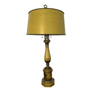 Vintage used french provincial table lamps chairish vintage warren kessler toile bouillotte lamp aloadofball Image collections