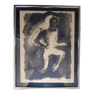 """Night Figure"" Print by Arthur Secunda"" For Sale"