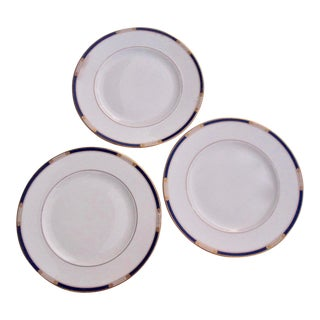 Lenox Royal Treasure Dinner Plates - Set of 3 For Sale