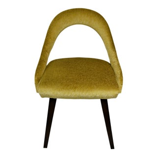Gino Upholstered Back and Seat Dining Chair For Sale