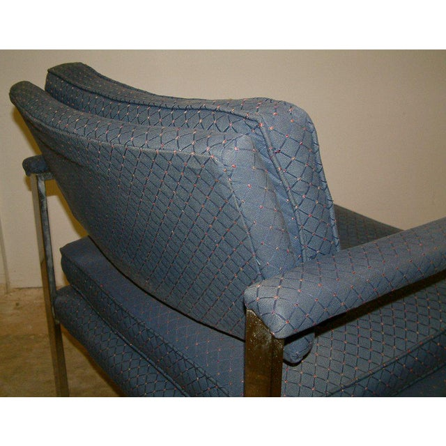 1970s Milo Baughman for Thayer Coggin Lounge Chairs - a Pair For Sale In Richmond - Image 6 of 9