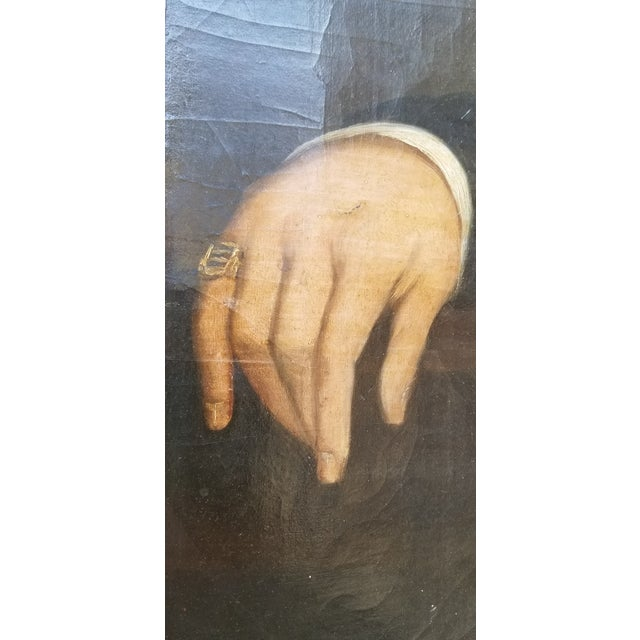 Mid 19th Century 19th Century Oil Painting For Sale - Image 5 of 7