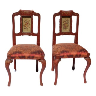 Pr. Of Italian 19 C. Painted Childs' Chair