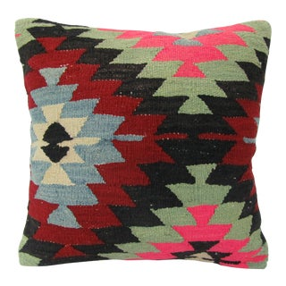 Turkish Handmade Decorative Kilim Pillow Cover For Sale