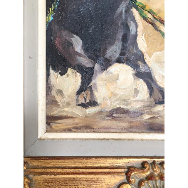 Antique Spanish Matador Oil on Canvas Painting For Sale - Image 5 of 10