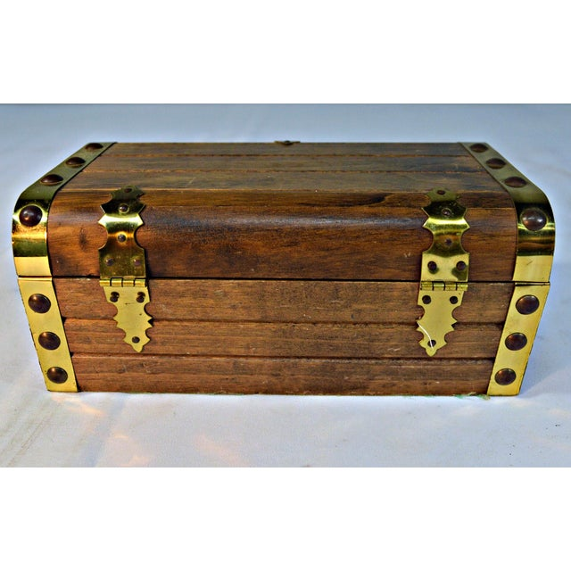 Japanese Wooden Jewelry Box - Image 9 of 10
