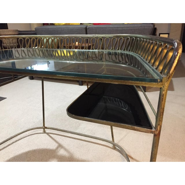 Could work well as a bar cart, entry table, or makeup table! Other ribbon tables by maurizio TempestinI for SalterinI have...