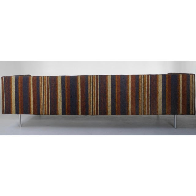 Directional Milo Baughman for Directional Tuxedo Sofa For Sale - Image 4 of 9