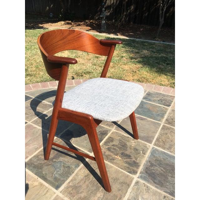 1960s Danish Modern Teak Dining Chairs by Kai Kristiansen for Korup Stolefabrik - Image 4 of 10
