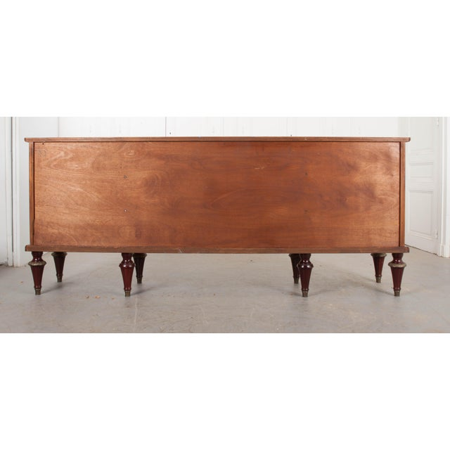 French Vintage Louis XVI-Style Enfilade For Sale - Image 4 of 12