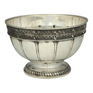 Tiffany 50655 Sterling Punch Bowl For Sale
