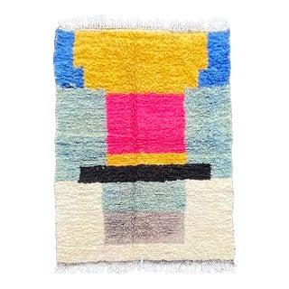 Moroccan Modern Berber Azilal Rug For Sale