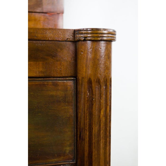 Early 19th Century Antique Regency Secretary Desk For Sale - Image 9 of 13