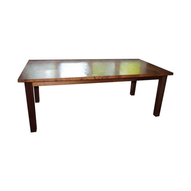 Copper Dining Table From Mohr McPherson - Image 1 of 4