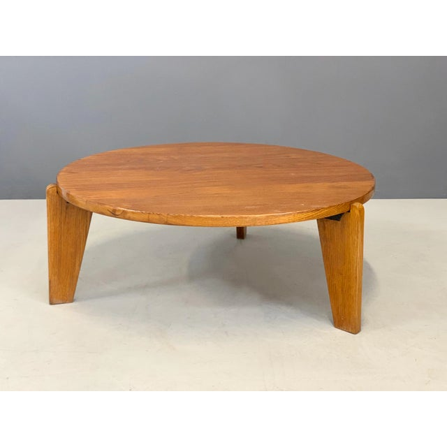 1950s Jean Prouvè Mid Century Coffee Table Series Africa For Sale - Image 9 of 9