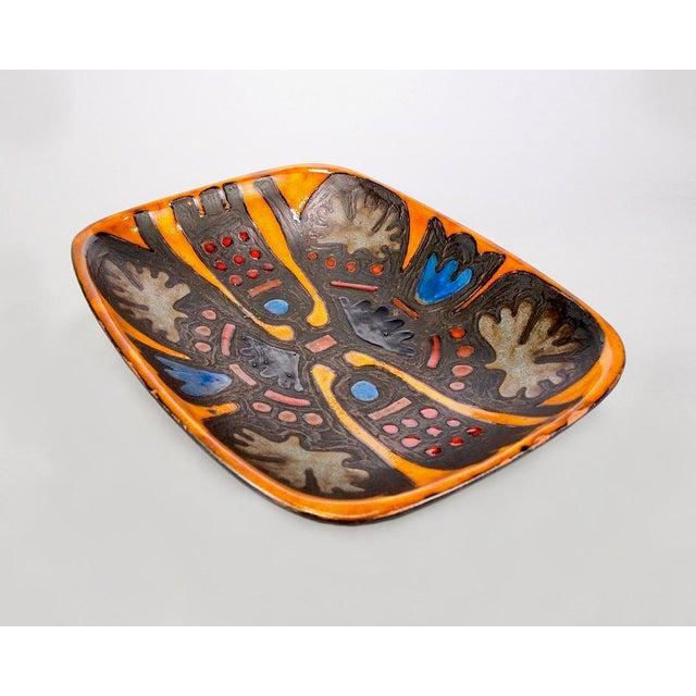 Rogier Vandewegh for Perignem Footed Platter For Sale In Detroit - Image 6 of 8