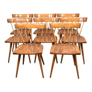 1950s Mid-Century Paul McCobb Planner Group Dining Chairs - Set of 8 For Sale