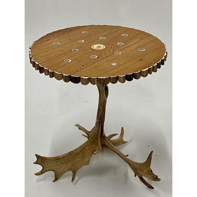 Organic Modern Antler Side Table For Sale - Image 9 of 13
