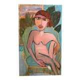 "Image of ""She Prefers Scottsdale"" Oil Painting by JJ Justice For Sale"