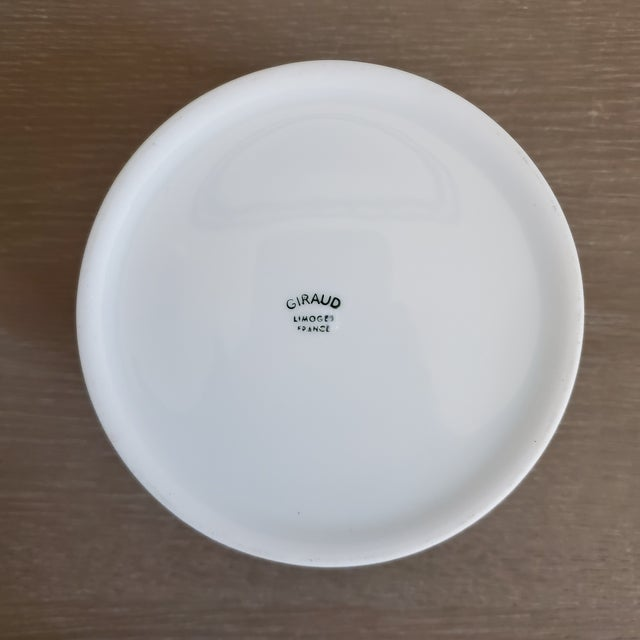 Limoges French Porcelain Tobacco Jar For Sale - Image 10 of 11