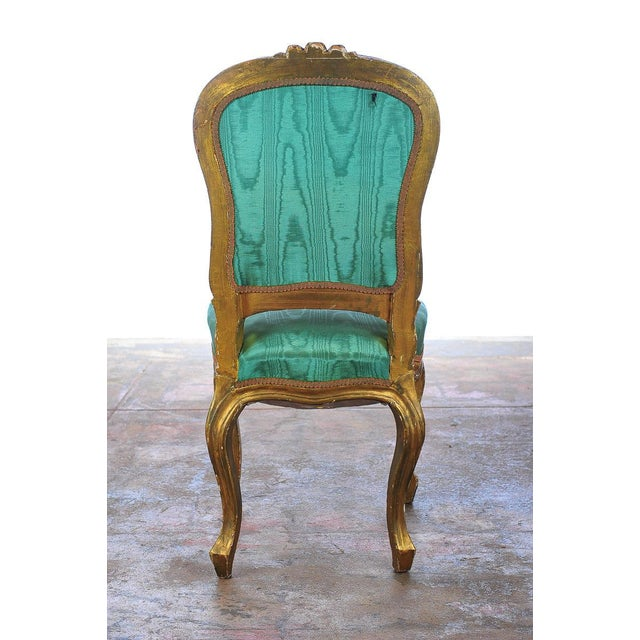 Louis XVI Style Giltwood Chairs - Set of 4 - Image 9 of 11