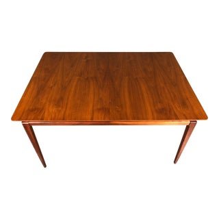 Drexel Pavilion Mid-Century Modern Walnut Dining Table