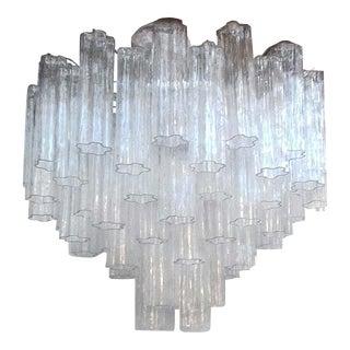 "Contemporary Murano Glass ""Tronchi"" Chandelier"