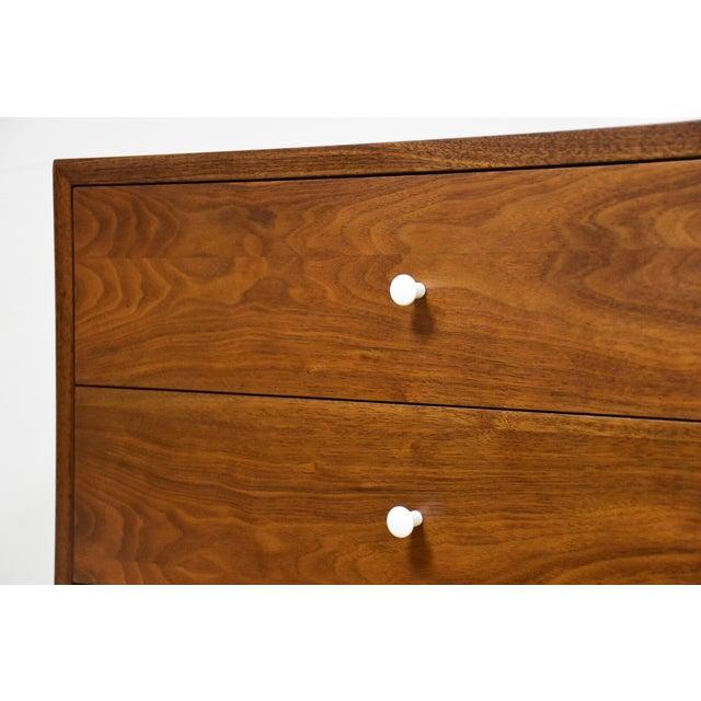 Mid Century Walnut 12 Drawer Dresser - Image 10 of 11