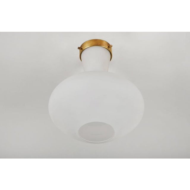 Two Flush Mount Ceiling Lights by Stilnovo - Image 2 of 6