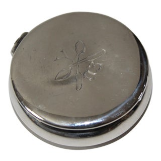 1903 Sterling Silver Antique Box For Sale
