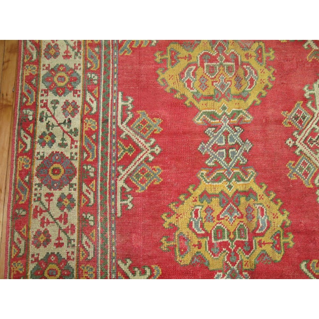 """Antique Turkish Oushak Rug - 9'6"""" X 12'3"""" For Sale In New York - Image 6 of 9"""