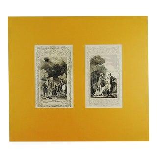 Washington & Revolution Woodcut Prints For Sale