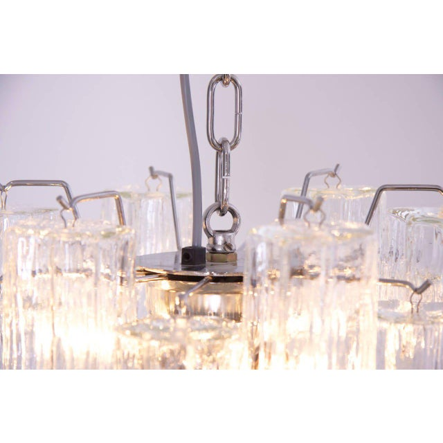 Murano Glass Tronchi Chandelier For Sale - Image 4 of 5
