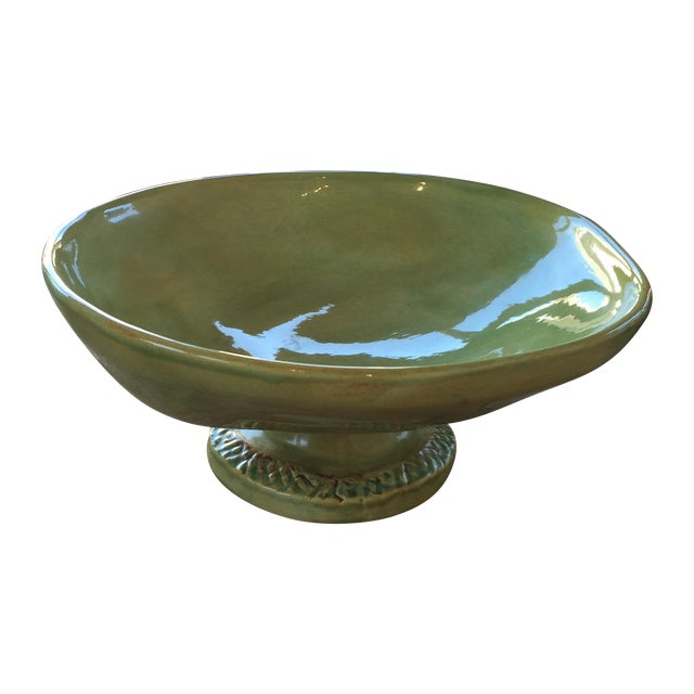 Soule Studio Melange Footed Bowl in Kiwi - Image 1 of 7