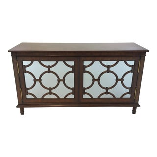 Pearson Transitional Mirrored Cabinet/Sideboard For Sale